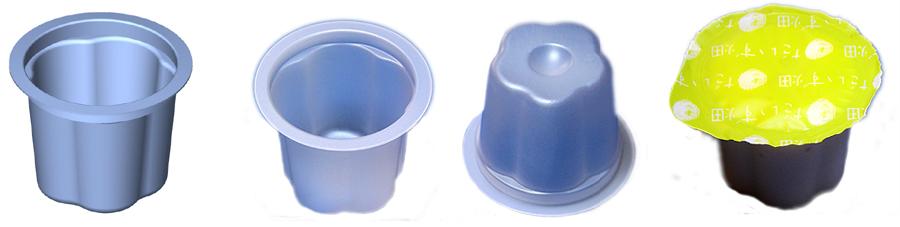 一口サイズ豆腐容器
